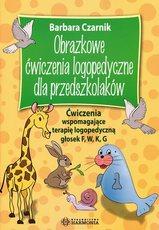 Obrazkowe ćwiczenia logopedyczne dla przedszkolaków Głoski F,W,K,G
